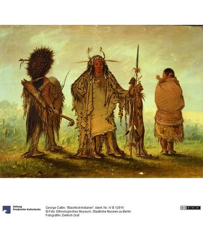 """""""Blackfoot-Indianer"""""""