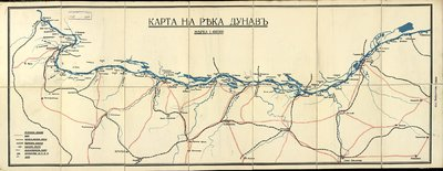 Karta Na Reka Dunav