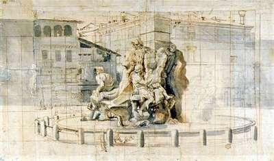 La Fontana dei Fiumi a Piazza Navona (Rivers Fountain)