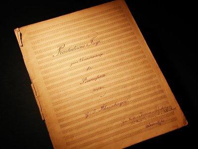 Praeludium Und Fuge Zum Concertvortrage Für Pianoforte