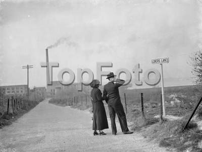 Image from object titled Lovers Lane , Swanscombe . 1938