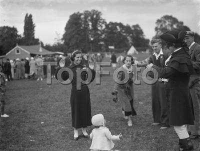 Fete for charity in Chelsfield . 1936