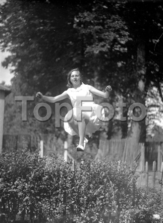Girl Jumping 1933 | John Topham