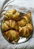 Freshly baked croissants  credit: Ilva Beretta / thePictureKitchen / TopFoto
