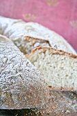 A slice of fresh Italian white bread  credit: Ilva Beretta / thePictureKitchen / TopFoto