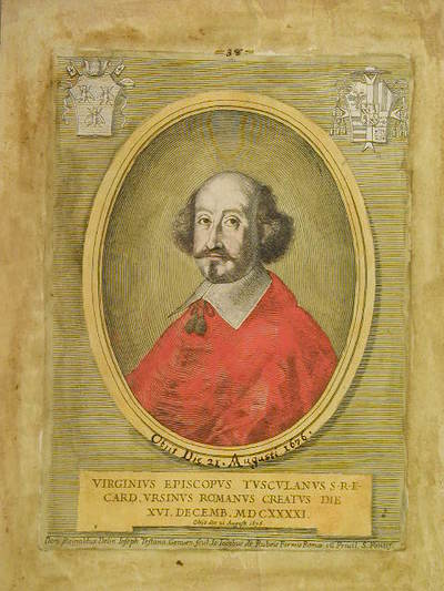 Card. Virginio Orsini 1641 | Domenico Rinaldo