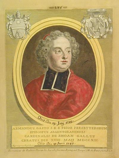 Card. Armando Gasto De Rohan 1712