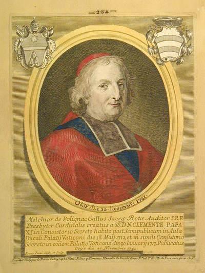 Card. Melchiorre de Polignac 1712