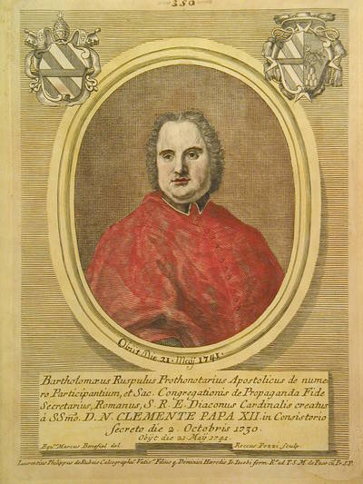 Card. Bartolomeo Ruspoli 1730