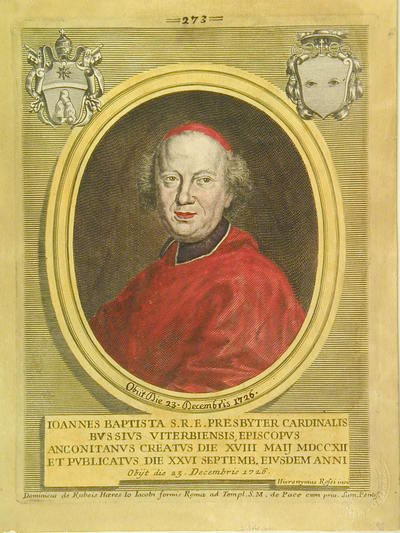 Card. Giovanni Battista Bussi 1712