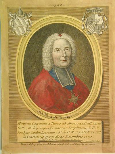 Card. Enrico Osvaldo Bullione 1737
