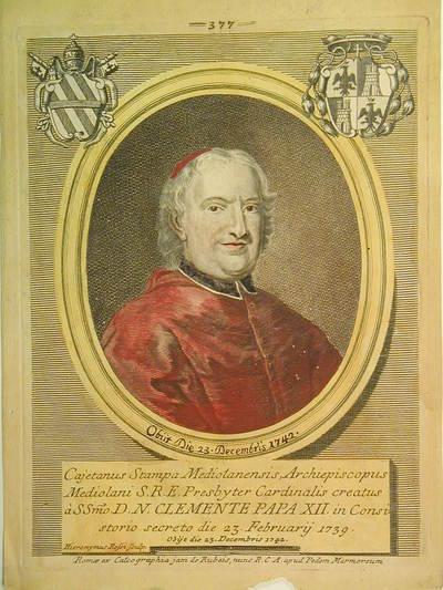 Card. Gaetano Stampa 1739