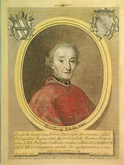 Card. Giuseppe Firrao 1731