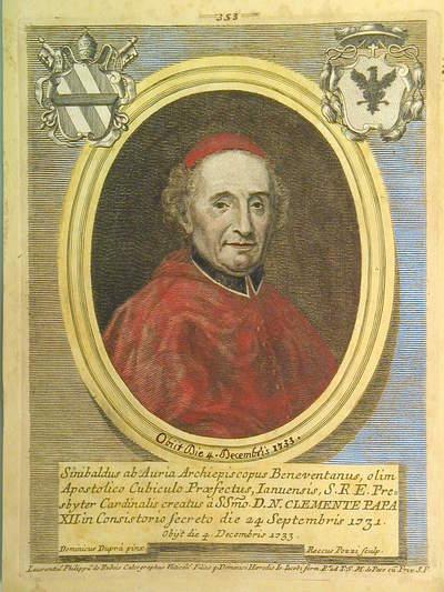 Card. Sinibaldo da Auria 1731