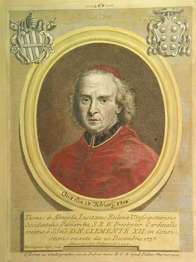 Card. Tommaso de Almeyda 1737