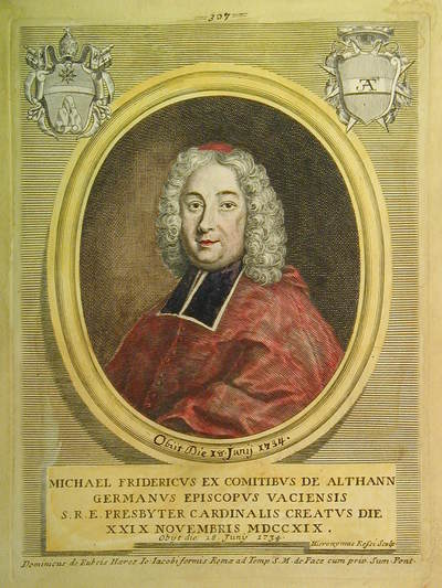 Card. Michele Federico de Althann 1719