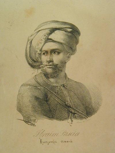 Ritratto del pascià Ibraim