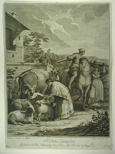 Veduta campestre di Giovanni da San Giovanni