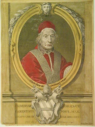 Papa Clemente XII Corsini 1730