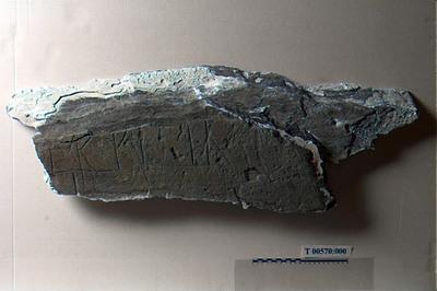 Image from object titled Brudstykker/Runestein