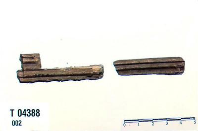 Image from object titled Stykke træ