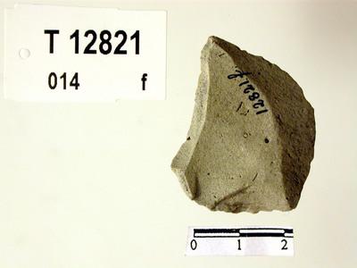 Image from object titled Knivformet spaltestykke