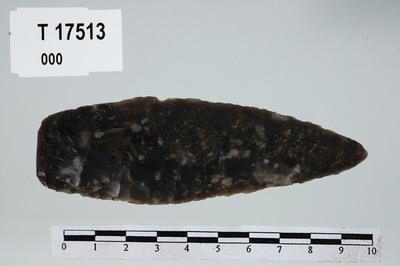Image from object titled flintdolk/blad