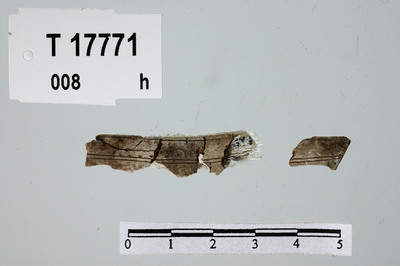 Image from object titled fragm./Gjenstand