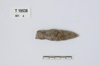 Image from object titled pile- eller spydspiss