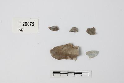 Image from object titled flintavslag