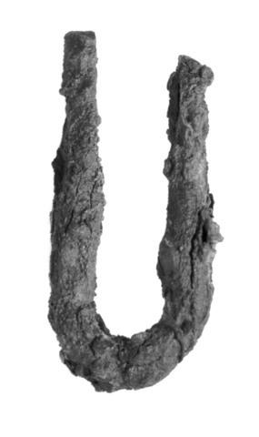 Image from object titled ten/stift/stykke/krampe