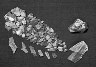 Image from object titled avfall og naturstein