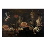 Still Life with Ham, Crustacean and Fowl
