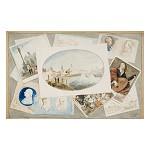 Trompe l'oeil, in: Album contenant des souvenirs offert par l'Amitié à P.J. Goetghebuer, architecte, professeur de l'Académie de Peinture, Sculpture & Architecture de la Ville de Gand