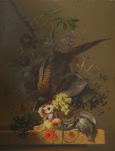 Still Life with a Pheasant and Fruit