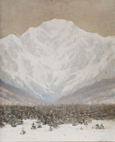 Image from object titled The High Tatras in Winter
