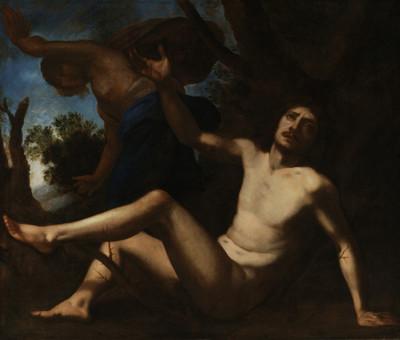 Saint Benedict Escapes Temptation