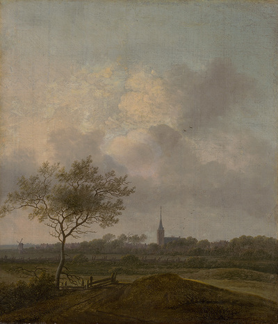 Landscape with Church in Rijswijck
