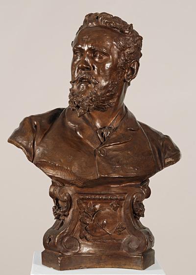Portrait of Painter V. Brožík