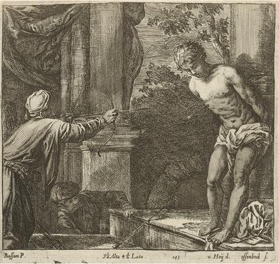 Umučenie sv. Sebastiána (?)
