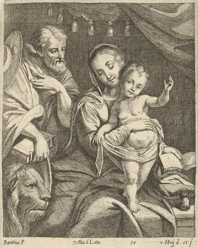 Madona so svätým Hieronýmom