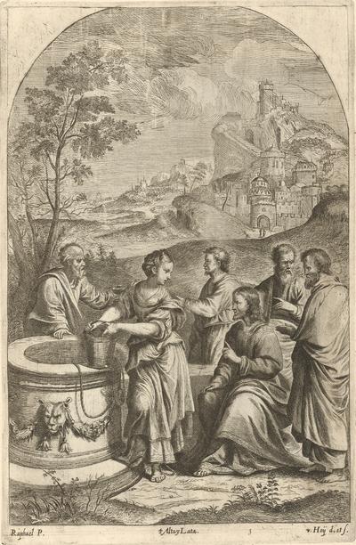 Kristus a Samaritánka pri studni