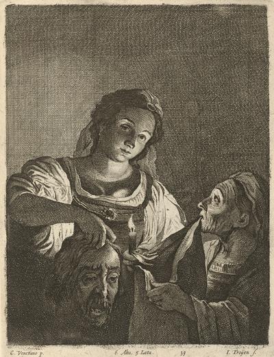 Judita s hlavou Holoferna