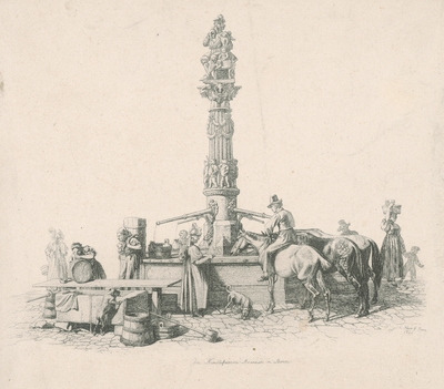 Scéna pri studni v Berne