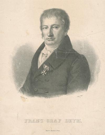 Podobizeň grófa Františka Deyma