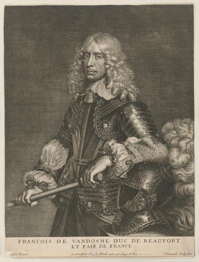 Francois de Vandosme duc de Beaufort