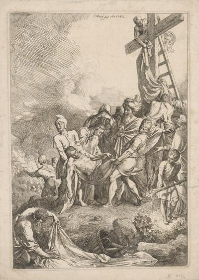 Snímanie z kríža