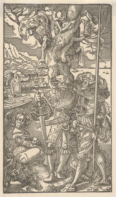 Smrť a Landsknechti