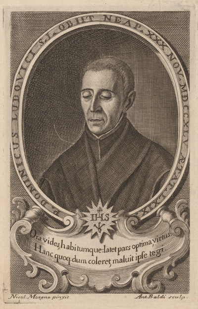 Portrét P. Dominika Ludoviciho S.J.