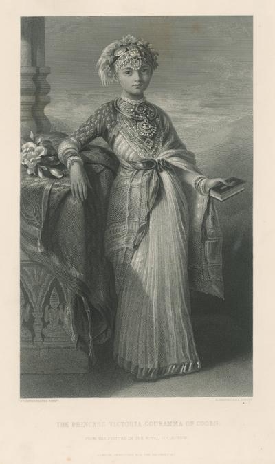 Princezná Victoria Gouramma